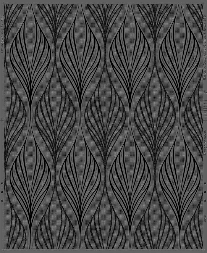 100485 5011583307535 OPTIMUM BLACK SILVER PATTERN
